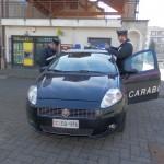 carabinieri- rapina alla posta