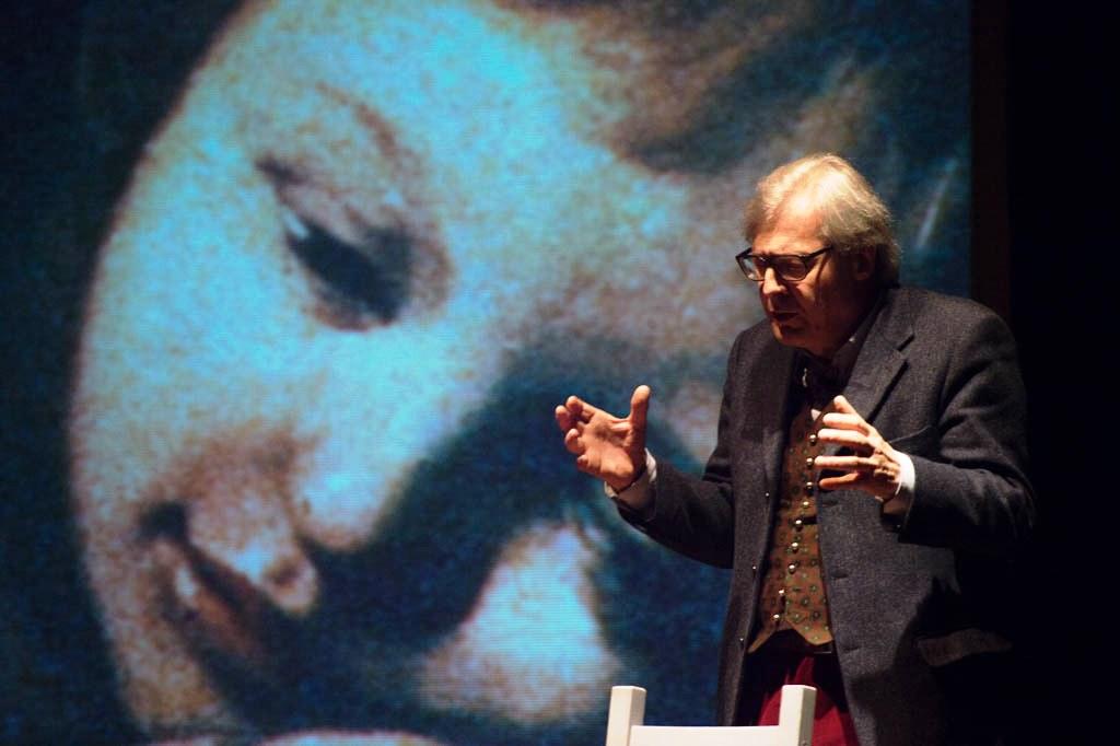 [Photogallery]Torino. Il 3 febbraio Sgarbi ha portato a teatro Caravaggio
