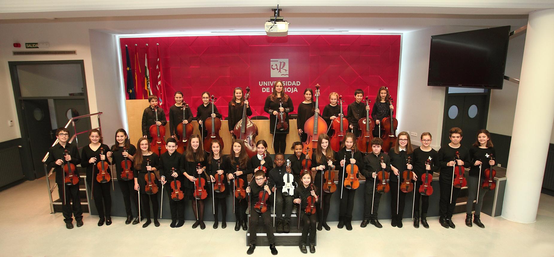 Cantalupa.  L'Orquesta Promesas in concerto al polivalente