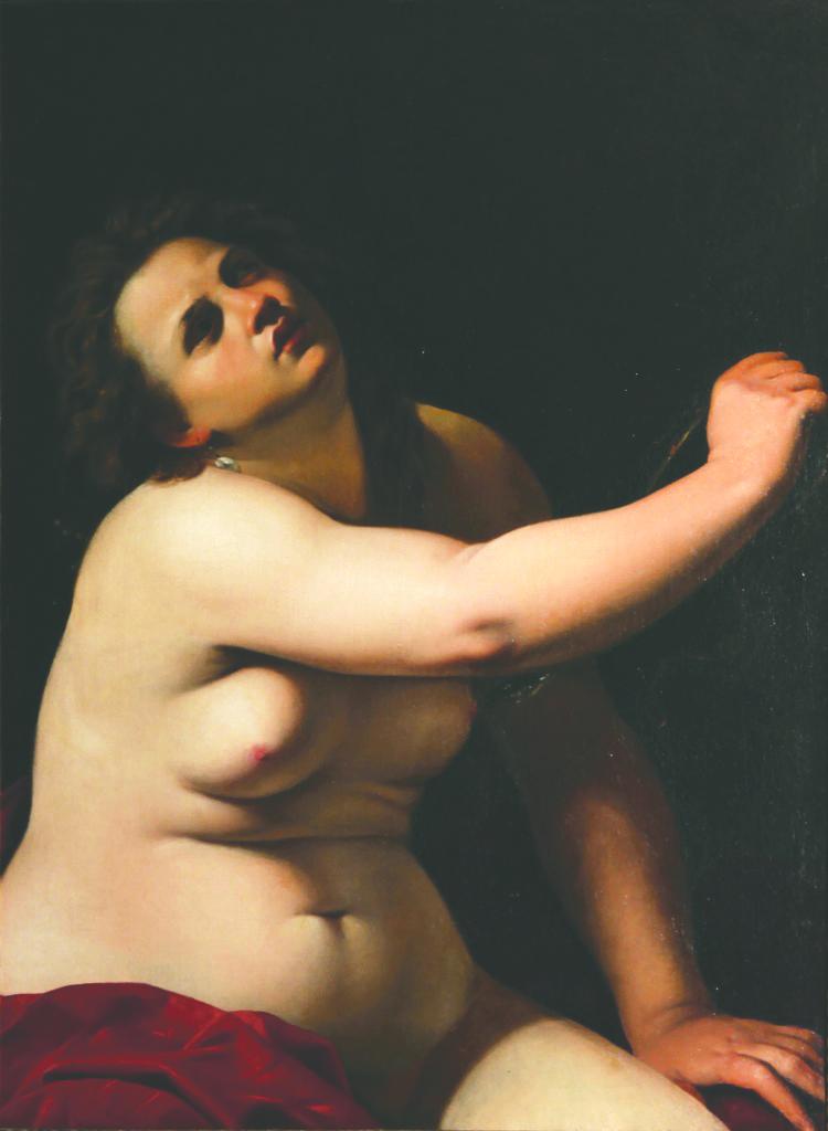 """Al Castello di Miradolo in mostra fino al 14 marzo la """"Cleopatra"""" di Artemisia Gentileschi"""
