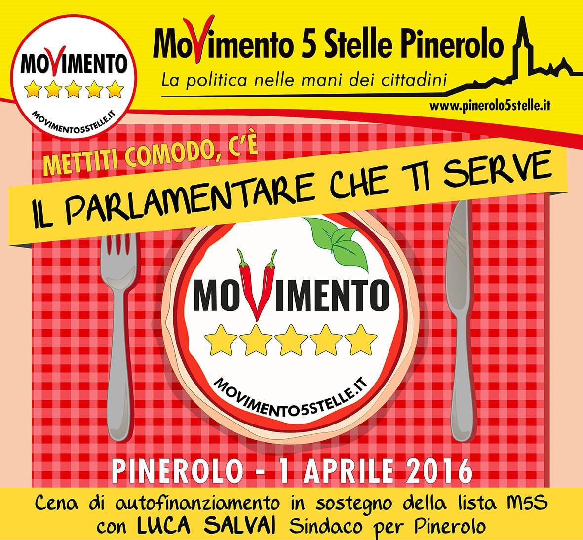 Pinerolo. Appuntamento l'1 e il 3 aprile con le iniziative del M5S