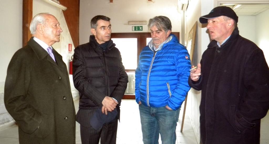 Pinerolo. L'assessore regionale allo sport Ferraris ha visitato oggi gli impianti sportivi della città