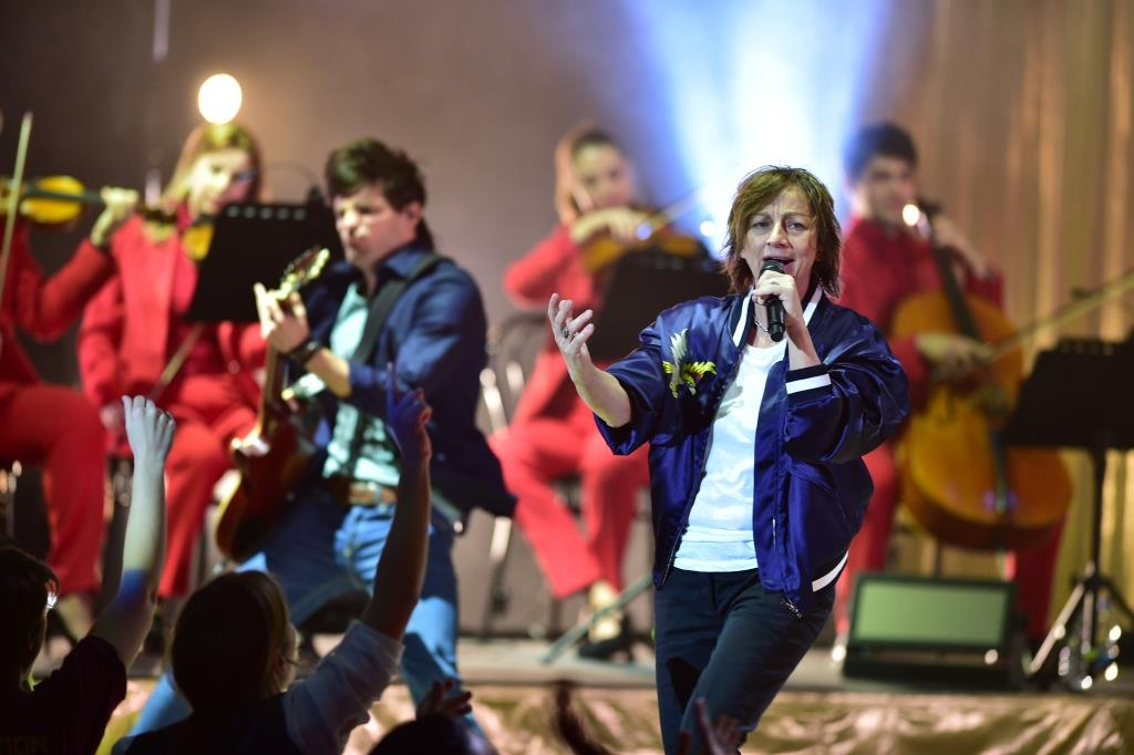 [Photogallery] Gianna Nannini in concerto all'Auditorium del Lingotto