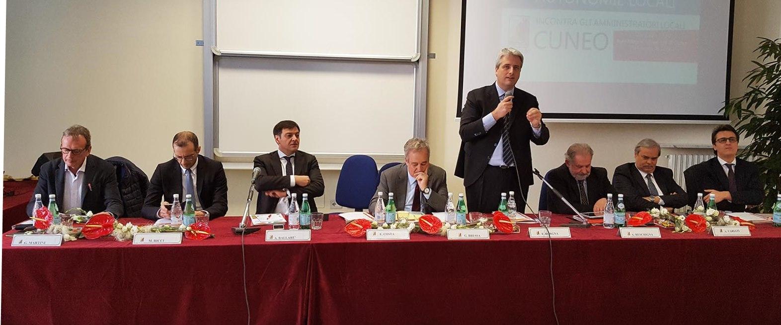 """Cuneo. Nell'incontro all'università l'immagine di un """"Piemonte laboratorio per tutta Italia"""""""