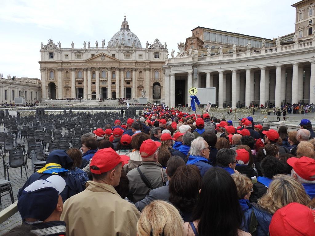 [ photogallery ] Pellegrinaggio a Roma per i 50 anni della FISC: Vita c'era!