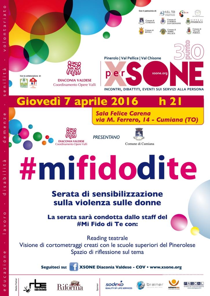 """Cumiana. Il 7 aprile la serata """"#mi fido di te"""" contro la violenza sulle donne"""