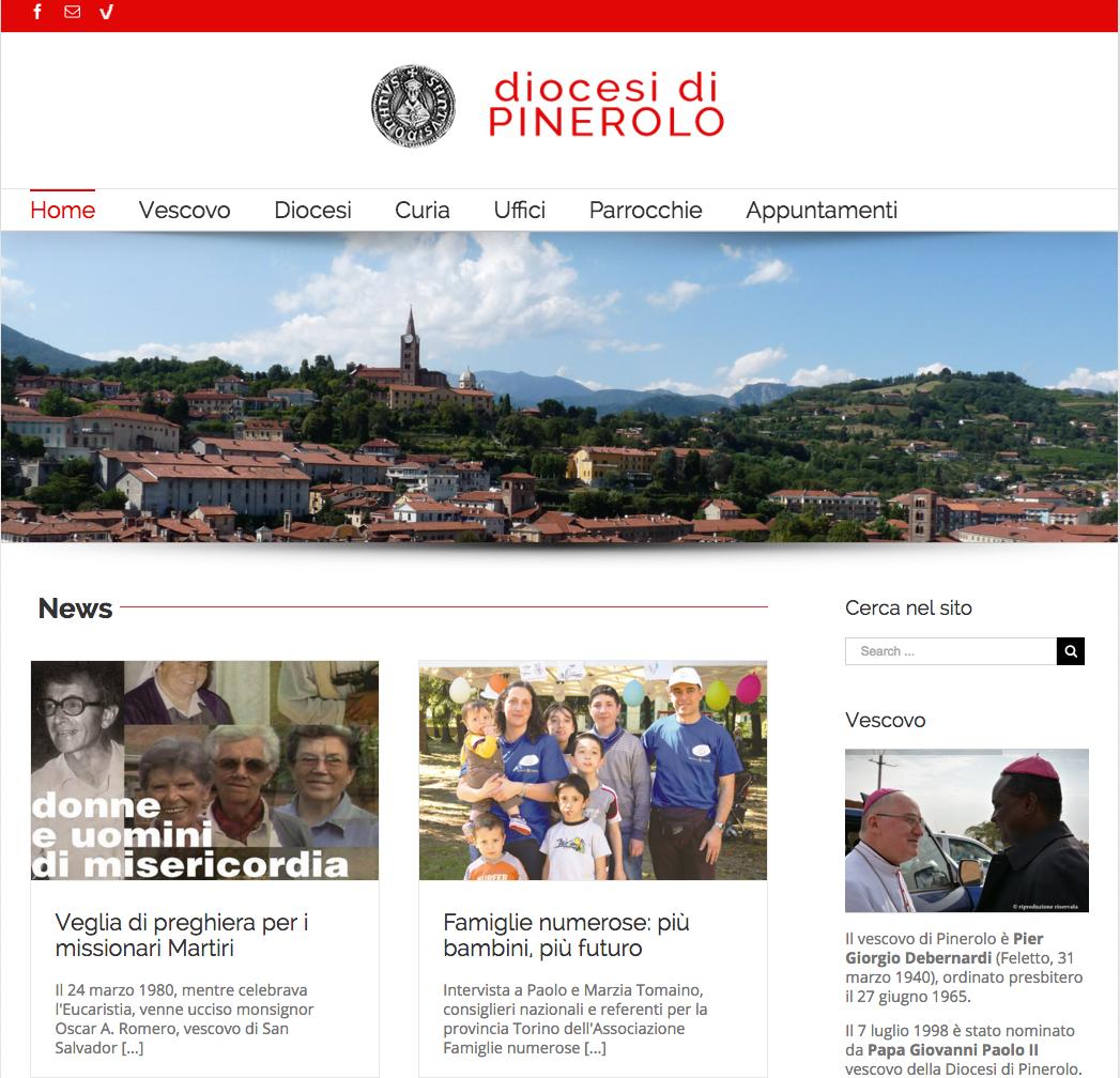 Pinerolo. Un nuovo sito per la diocesi
