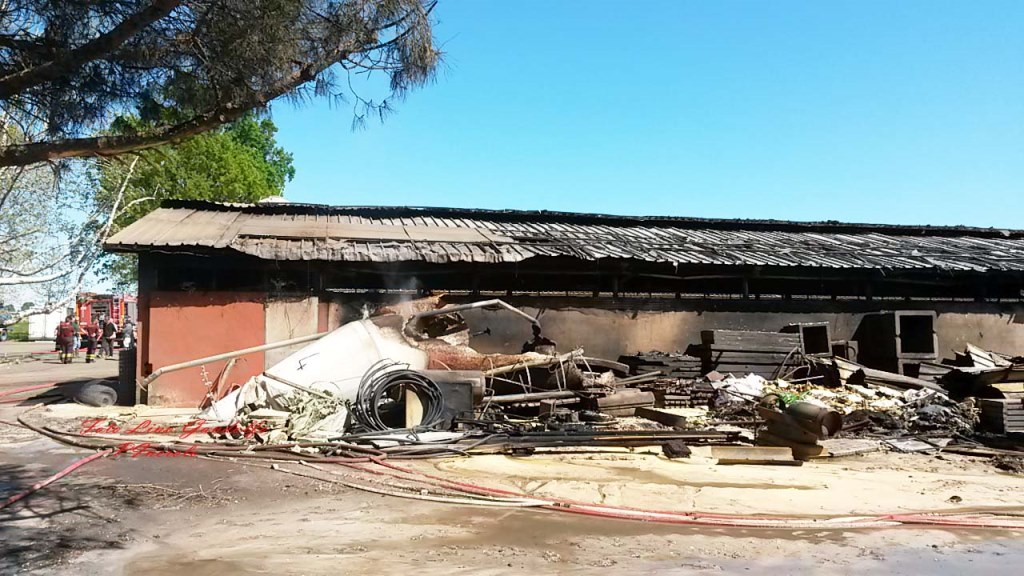 Disastroso il bilancio dell'incendio di Villafranca