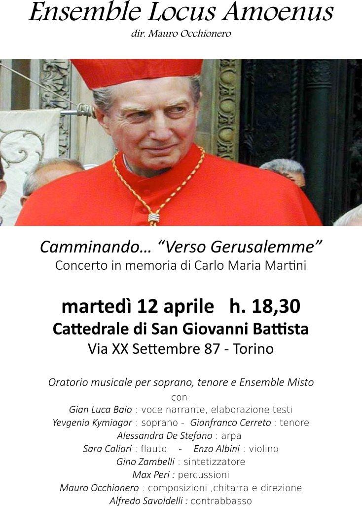 Torino. Il 12 aprile il concerto in Duomo in ricordo del cardinale Carlo Maria Martini