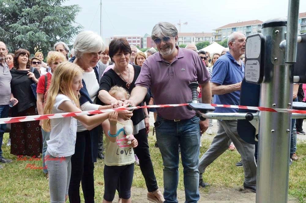 [Photogallery] Inaugurato a Pinerolo il percorso salute realizzato da ANAPACA