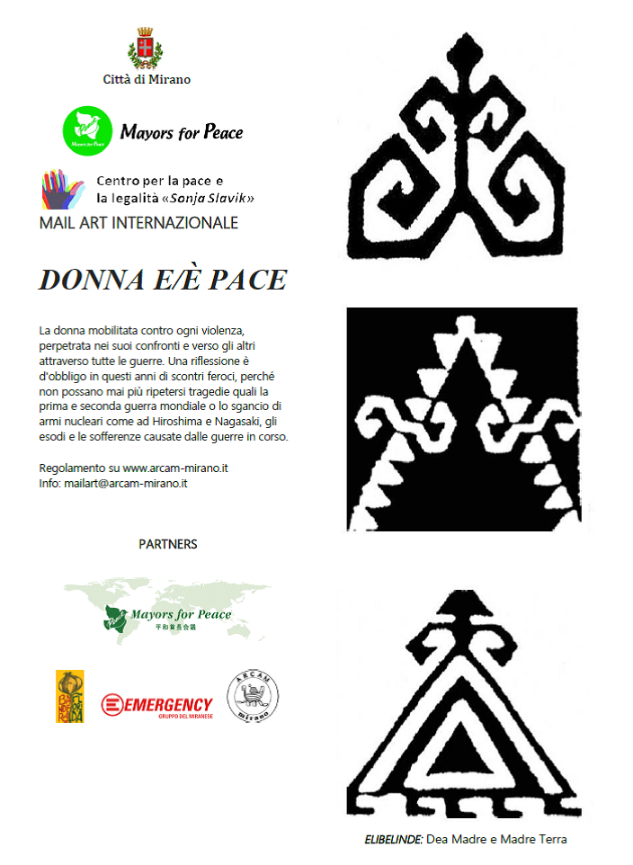 """Donna e/é pace"": concorso per artisti"