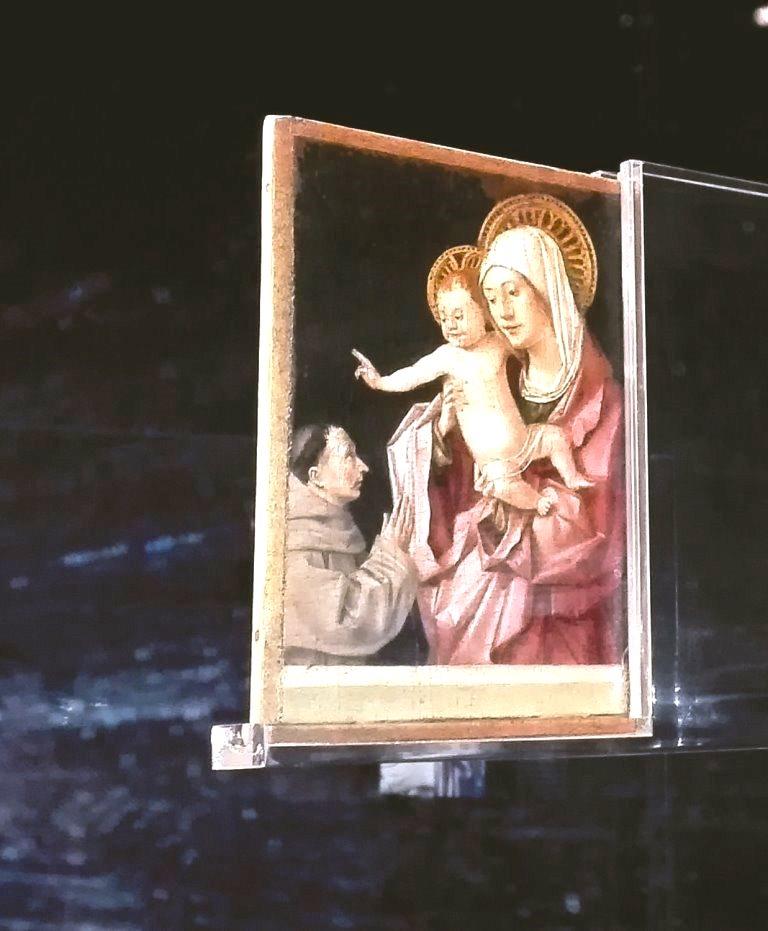 Madonna col bambino - Antonello da Messina