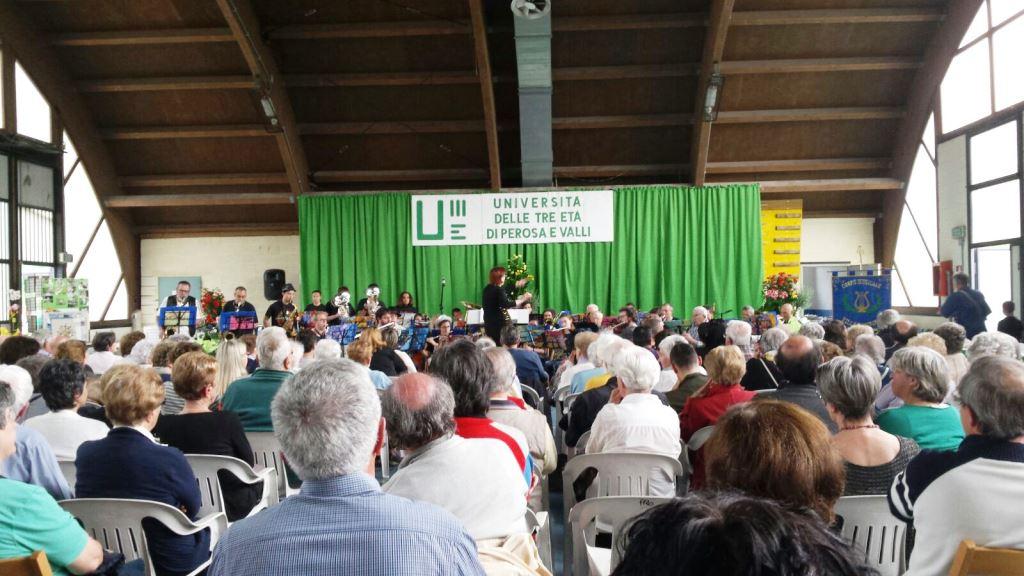 [Photogallery] Lo scorso 22 maggio la festa di chiusura corsi dell'Unitre di Perosa e Valli