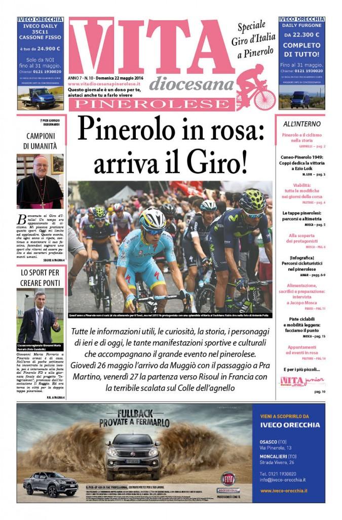 Numero 10 - domenica 22  maggio - speciale giro Italia