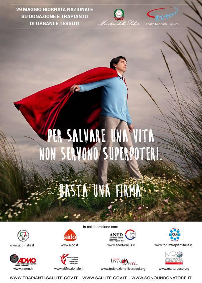 Oggi la Giornata donazione organi. Il Piemonte tra le regioni più virtuose