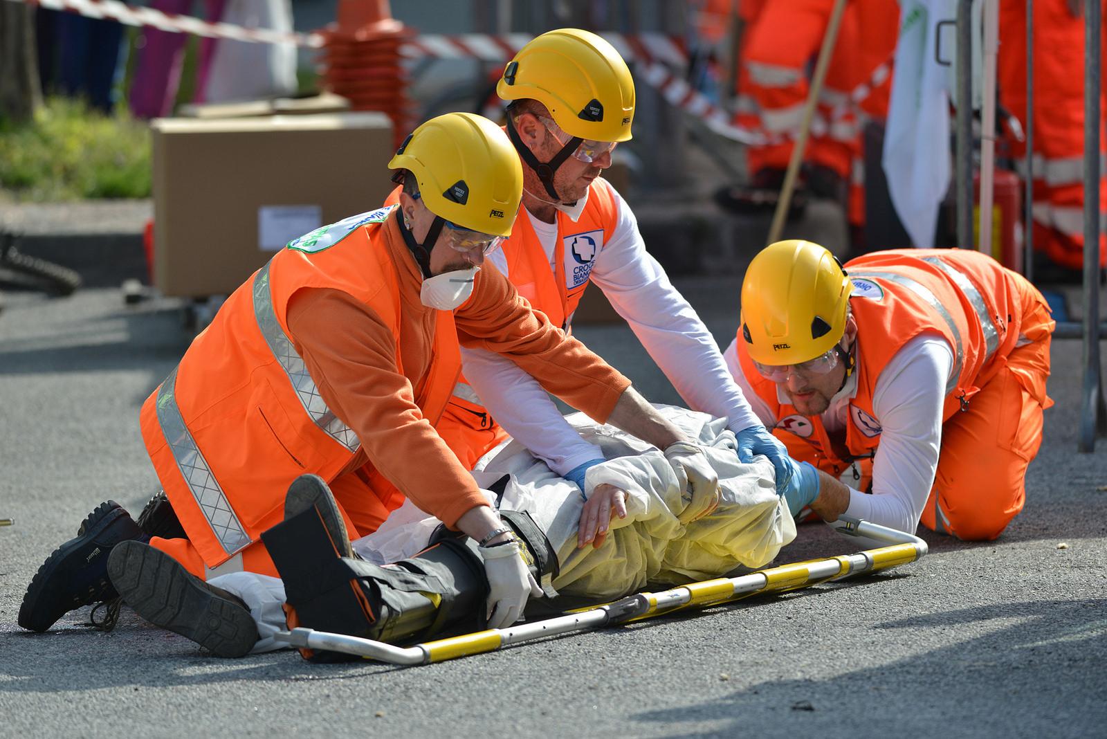 Una gara di primo soccorso: partecipano anche Cumiana e Bagnolo