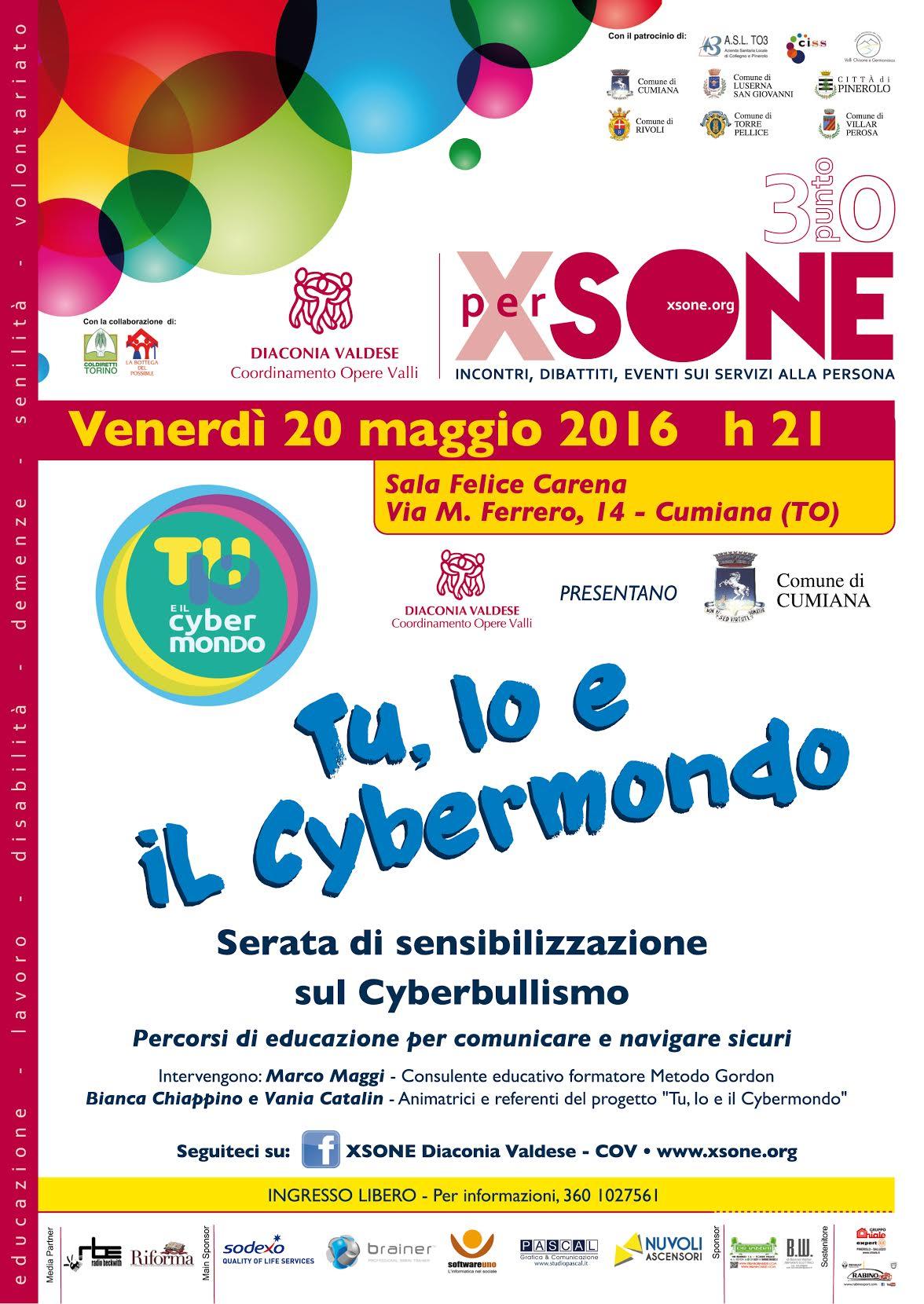 A Cumiana un convegno sul cyberbullismo
