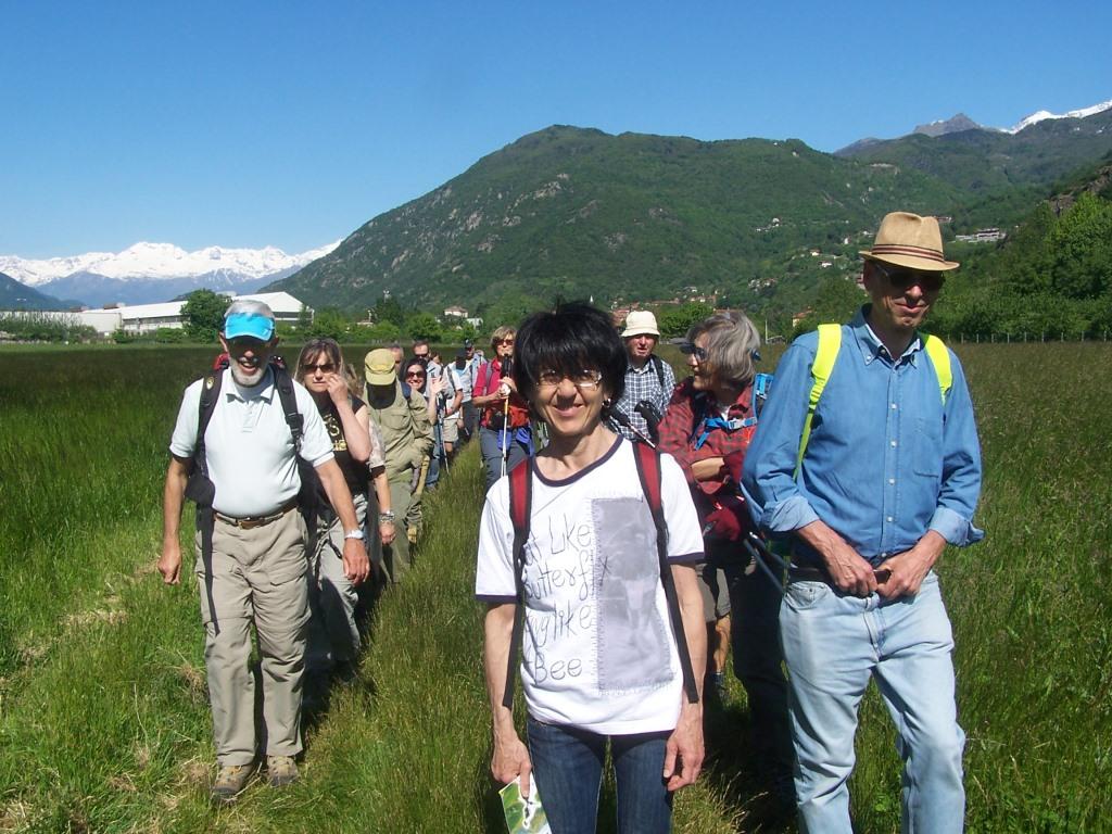 Più di 100 persone alla XV camminata al Parco della Dora