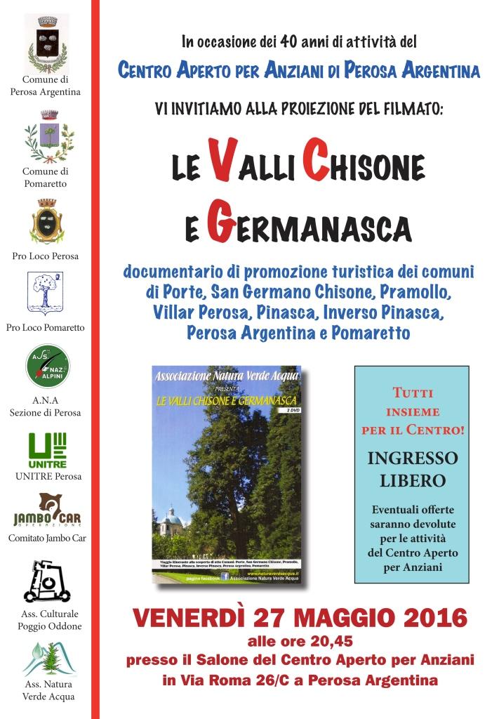 Perosa. Il 27 maggio una serata in favore del Centro Anziani