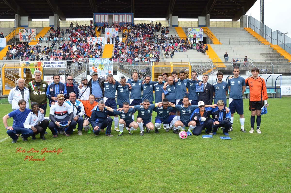 Allo Stadio Barbieri il Pinerolo Fd incontra i ragazzi delle scuole nell'evento conclusivo del progetto Integriamoci