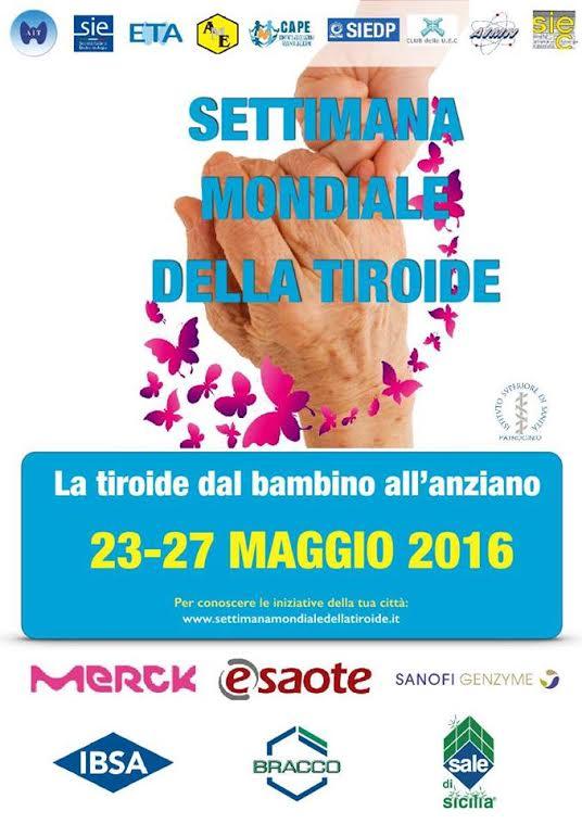 Fino al 27 maggio la Settimana Mondiale della Tiroide