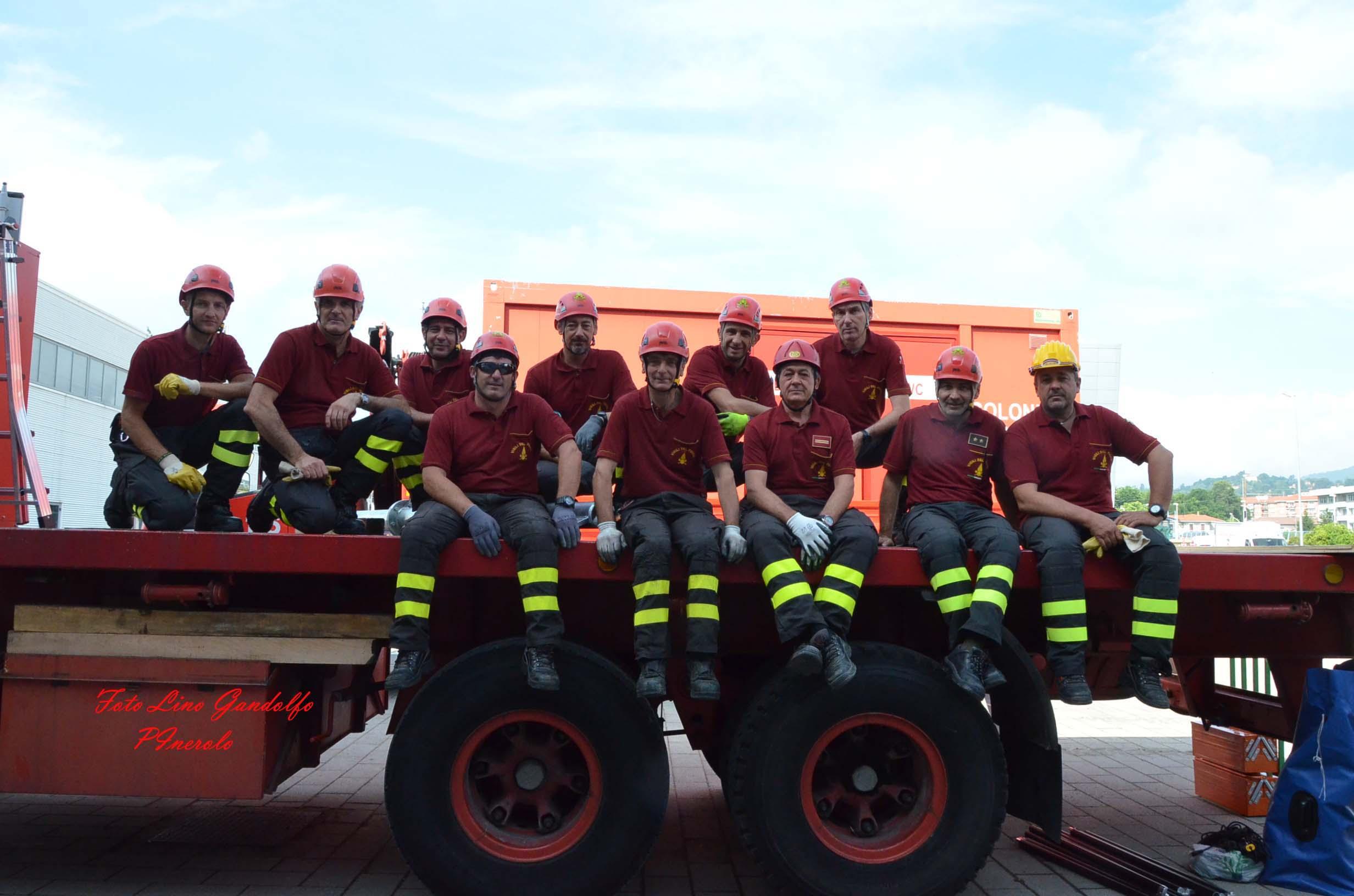 [ photogallery ] Esercitazione di protezione civile antisismica a Pinerolo
