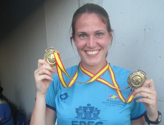 Campionati delle forze dell'ordine in Spagna: doppia vittoria Francesca Raimonda della Gdf di Pinerolo