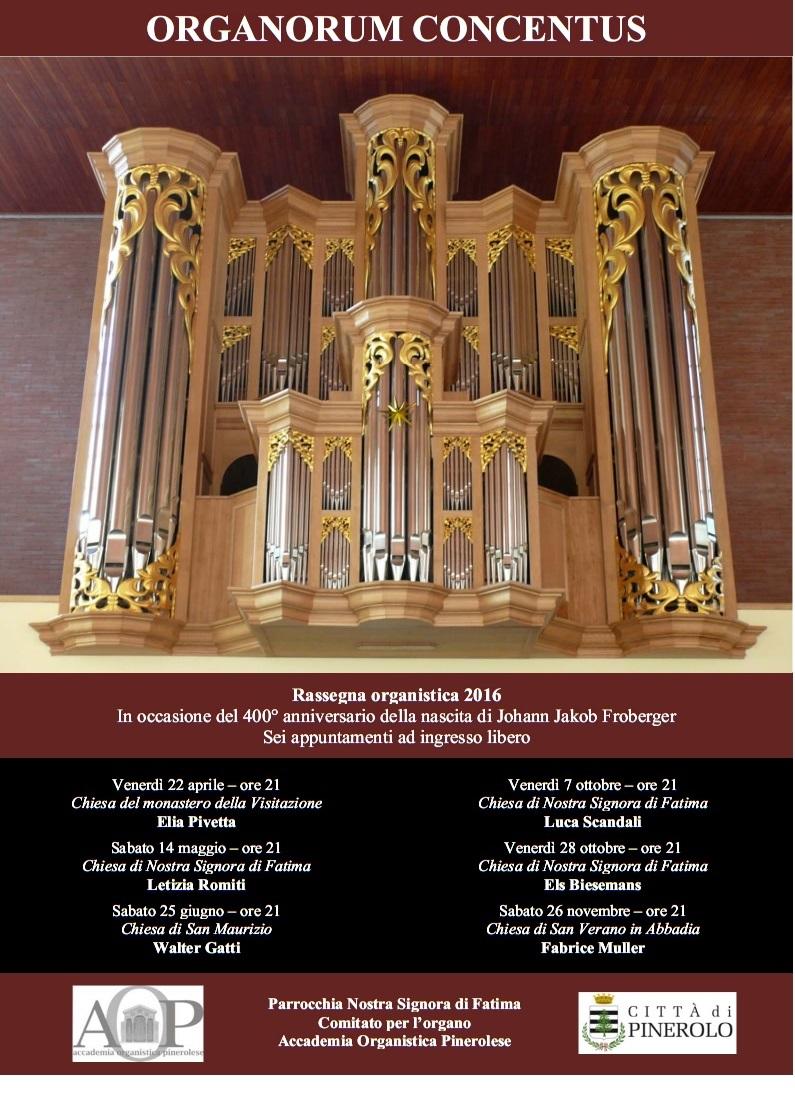 """Sabato 25 giugno nuovo appuntamento con la Rassegna organistica """"Organorum Concentus"""""""