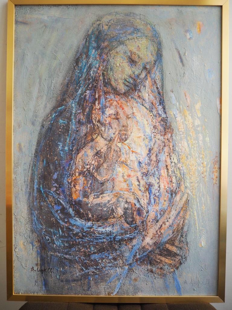 """Pinerolo. Nella mostra """"Mater Misericordia"""" arriva un'opera di Angelo Capelli"""