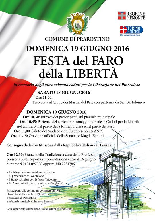 Prarostino. Il 19 giugno la Festa del Faro