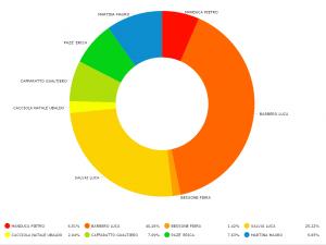 percentuali voti Sindaci a Pinerolo