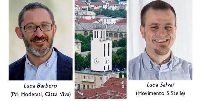 #Amministrative2016. Questa sera a Pinerolo si confrontano Barbero (PD) e Salvai (M5S)
