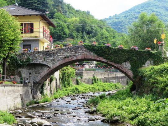 """Il """"Ponte di Annibale"""" su cui transiteranno i corridori"""
