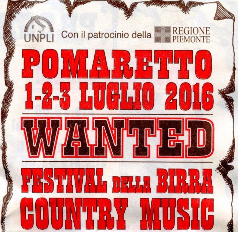 Pomaretto. Dall'1 al 3 luglio il Festival della birra