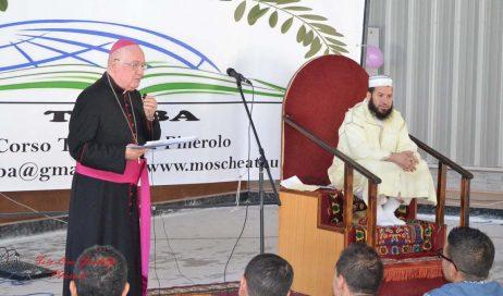 [ photogallery ] Anche il vescovo di Pinerolo alla conclusione del Ramadan