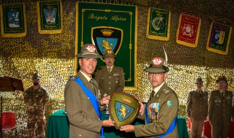 Massimo Biagini è il nuovo Comandante della Brigata Alpina Taurinense