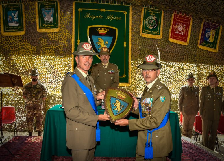 Cerimonia cambio Comandante Brigata Taurinense