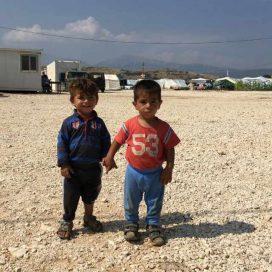 Campo profughi in Grecia