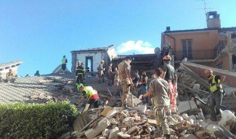 Terremoto. Il Soccorso Alpino Piemontese sta operando nelle zone colpite