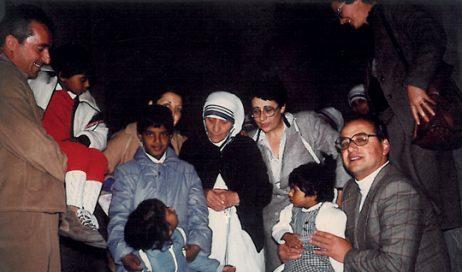 Madre Teresa, una santa di famiglia
