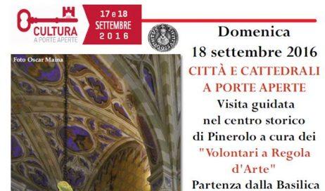 Città e cattedrali: domenica 18 visita guidata a Pinerolo