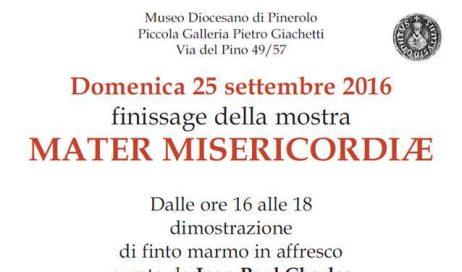 Al Museo Diocesano di Pinerolo il finissage della mostra Mater Misericordiae
