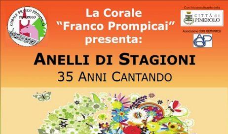 """Pinerolo. Sabato 24 settembre la Corale """"Franco Prompicai"""" sul palco per suoi 35 anni"""