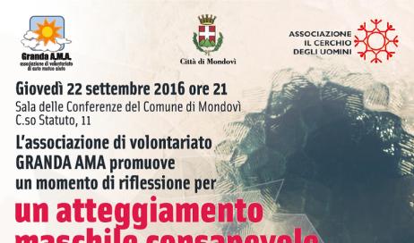 A Mondovì giovedì 22 settembre un incontro sulla violenza di genere