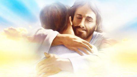 Gesù abbraccia