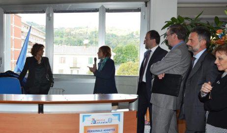 Inaugurata a Pinerolo la nuova sede dell'Agenzia delle entrate