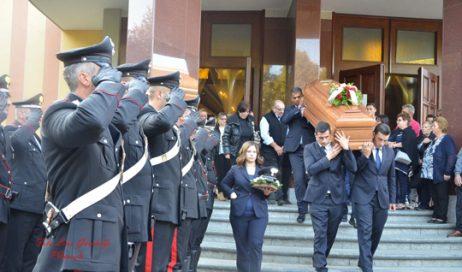Pinerolo in lutto per la scomparsa del carabiniere Giovanni Mario Caravello