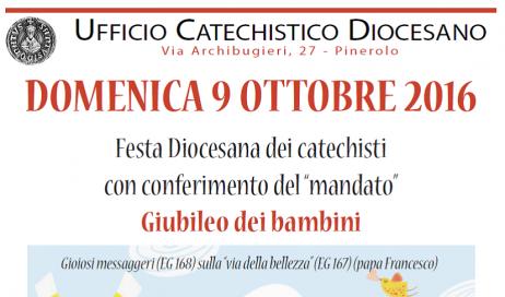 Pinerolo. Il 9 ottobre il mandato dei catechisti e il Giubileo dei bambini