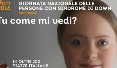 Giornata nazionale delle persone con la Sindrome di Down. L'8 e 9 ottobre un banchetto a Pinerolo