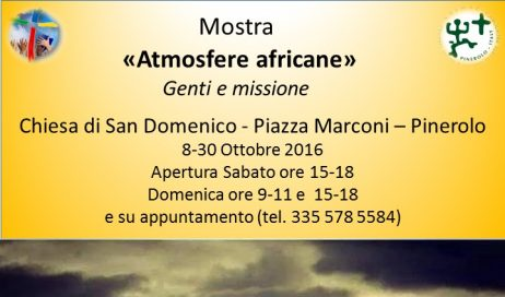 Atmosfere africane in mostra a Pinerolo